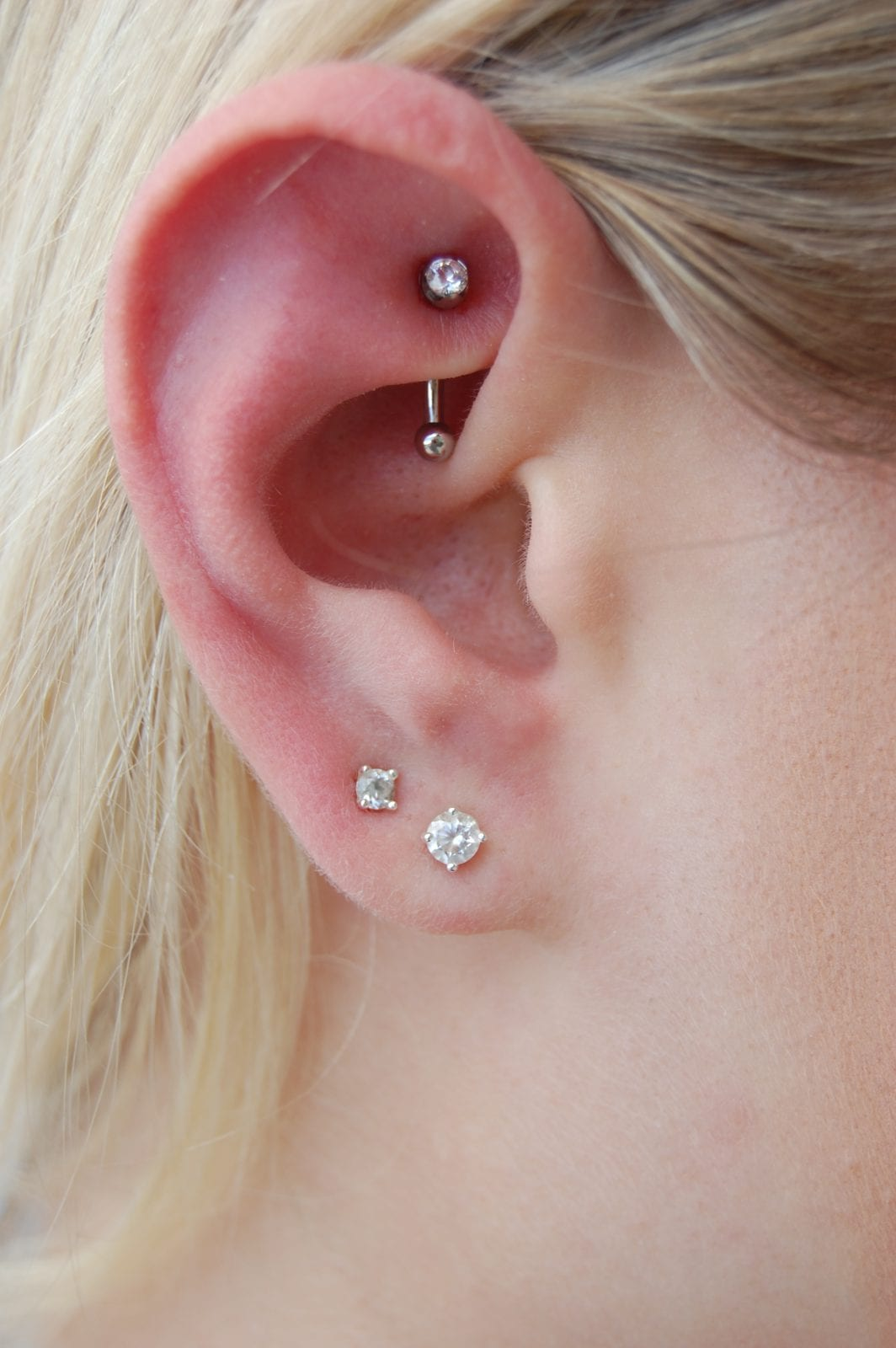 Rook And Faux Rook Amato Fine Jewelry Body Piercing